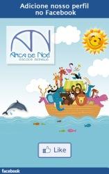 A Arca de Noé tem um perfil no Facebook. Nos adicione!