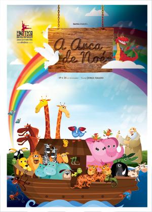 Espetáculo A Arca de Noé, da Escola de Ballet Ebateca