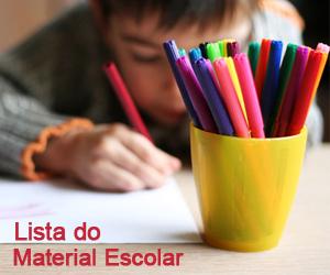Lista de Materiais Escolares da Pré-Escola Arca de Noé