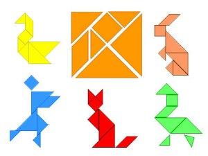Tangram estimula o raciocínio lógico e a inteligência