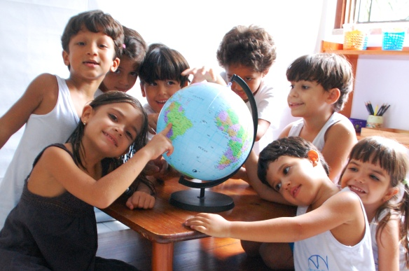 """Alunos da Agrupada IV fazem parte do Projeto Pedagógico """"Meu Planeta Terra"""""""