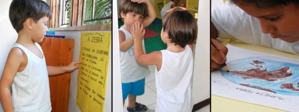 Projetos Pedagógicos da Arca de Nóe 2012 - construindo valores e formando pessoas e cidadãos