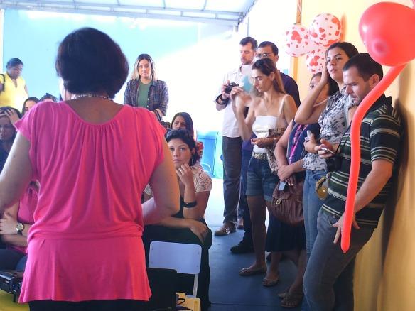 As mamães, e também os papais, compareceram - Homenagem do Dia das Mães - Arca de Noé 2012