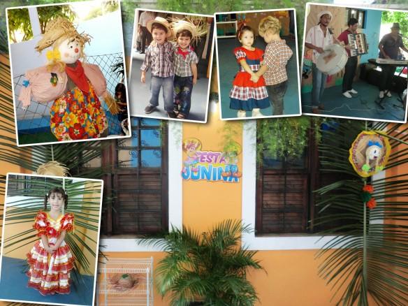 A decoração da nossa festa estava caprichada e nossos pequenos vieram vestidos a caráter.